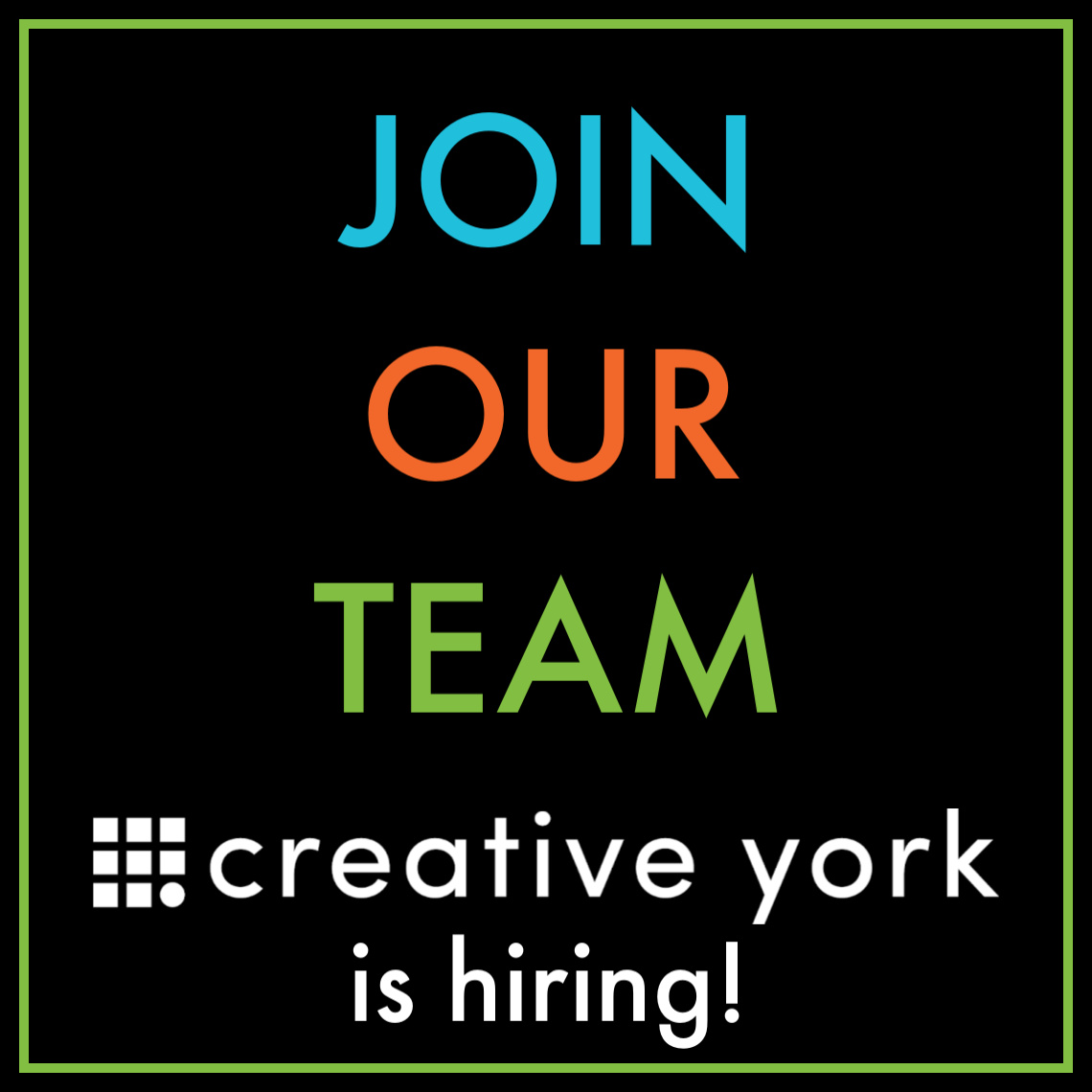Creative York Creativity Starts Here