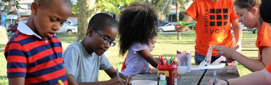 Art in the parks creative york for Penn state lehman craft fair 2017