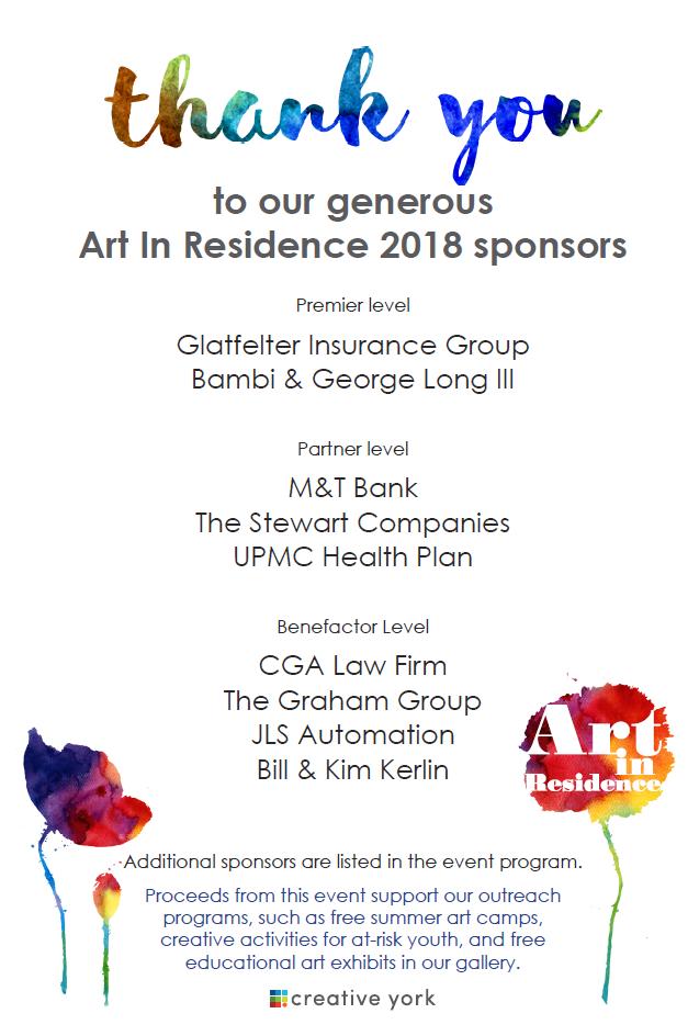 AIR 2018 Sponsor Poster