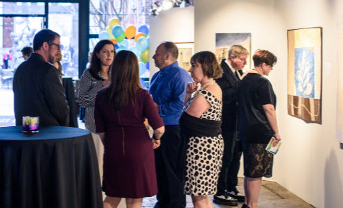 Art In Residence: Vivid - Creative York Spring Gala. April 28, 2018.