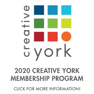 2020 Creative York Membership Program button