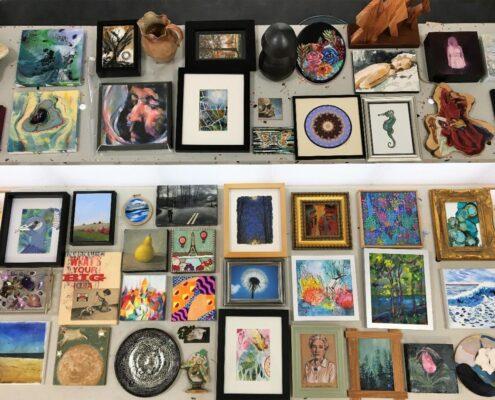 Various pieces of art